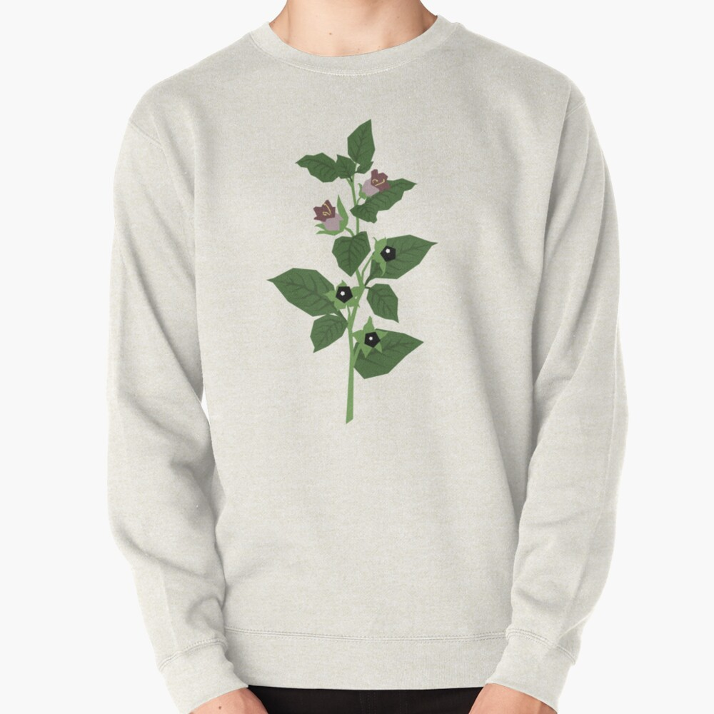 Deadly Nightshade Pullover Sweatshirt