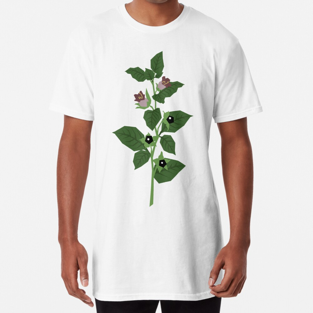 Deadly Nightshade Long T-Shirt