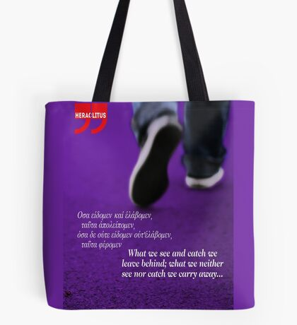 We are driven by curiosity & dreams (quote) Tote Bag