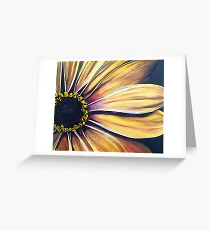 The Sun and Its Seasons Greeting Card
