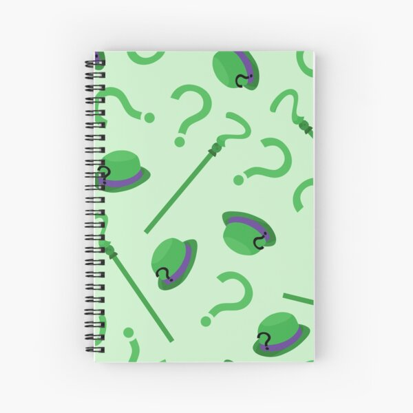 Riddle Me This, Riddle Me That Spiral Notebook