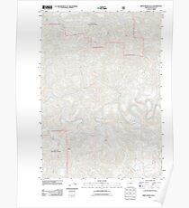 USGS Topo Map Oregon Smith River Falls 20110811 TM Poster