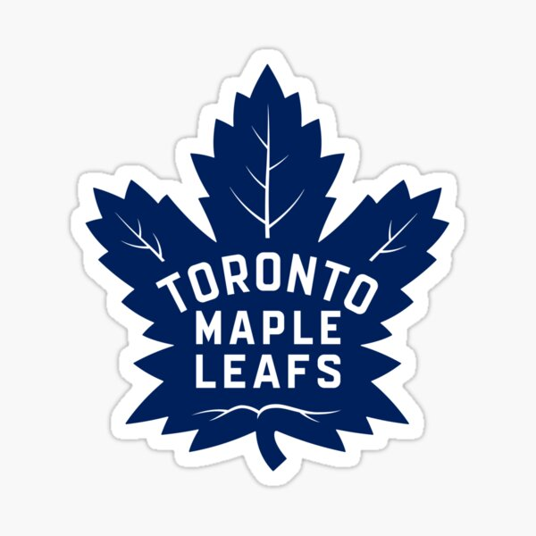 Leafs, Toronto Maple. Sticker