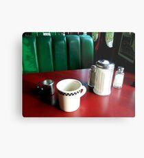 Germany - Heidelberg - Train Diner 2 Metal Print