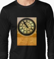 The Clock in the Plaza Long Sleeve T-Shirt