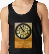 The Clock in the Plaza Men's Tank Top