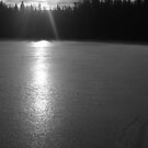 Sunrise in Black and White. by Christopher Clark