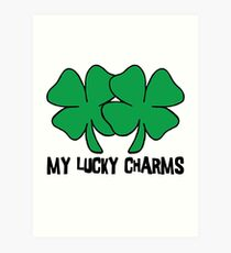 "Irish ""My Lucky Charms"" Women's Art Print"
