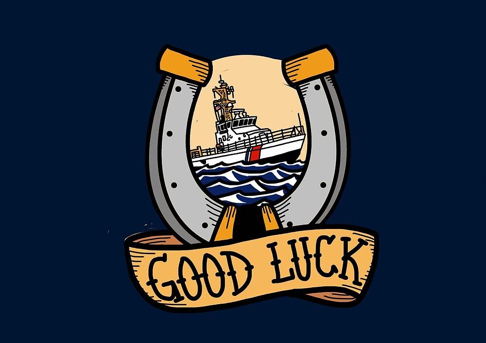 Coast Guard Good Luck - 87 WPB Patrol Boat by AlwaysReadyCltv