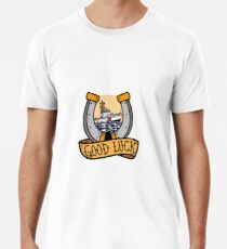Coast Guard Good Luck - 87 WPB Patrol Boat Premium T-Shirt