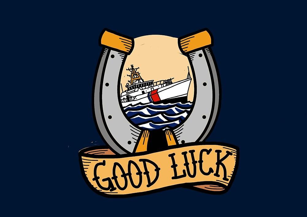 Coast Guard Good Luck - Fast Response Cutter by AlwaysReadyCltv
