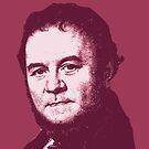 Stendhal Red Portrait von savantdesigns
