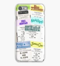 Magic Kingdom fastpass phone case iPhone Case/Skin