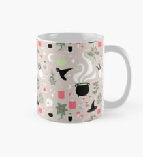Witchy Pattern - Light Classic Mug