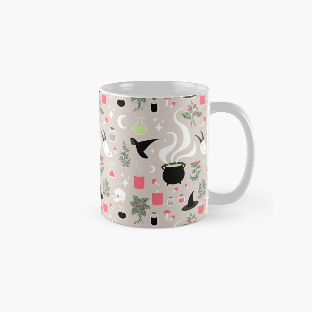 Witchy Pattern - Light Classic Mug