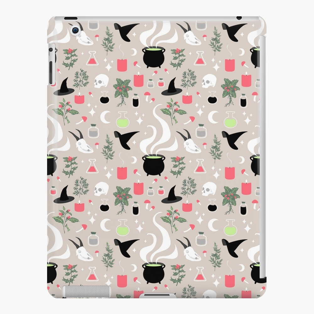 Witchy Pattern - Light iPad Snap Case