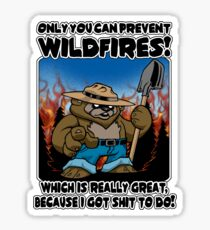 Wildfires!!! Sticker