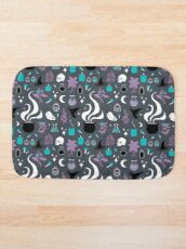 Witchy Pattern - Dark Bath Mat