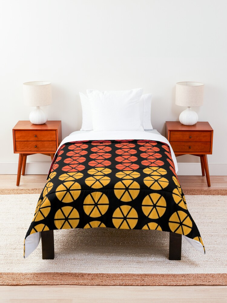 Alternate view of Alex DeLarge Bed Dubet Cover in A Clockwork Orange Comforter
