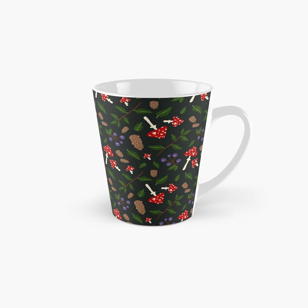 Forest Pattern Tall Mug