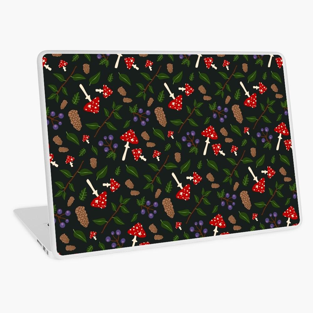 Forest Pattern Laptop Skin
