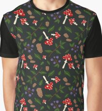 Forest Pattern Graphic T-Shirt