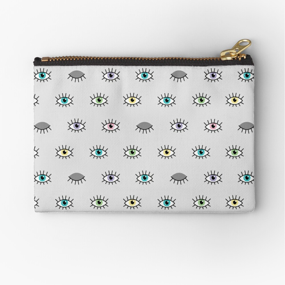 Eye See You Zipper Pouch
