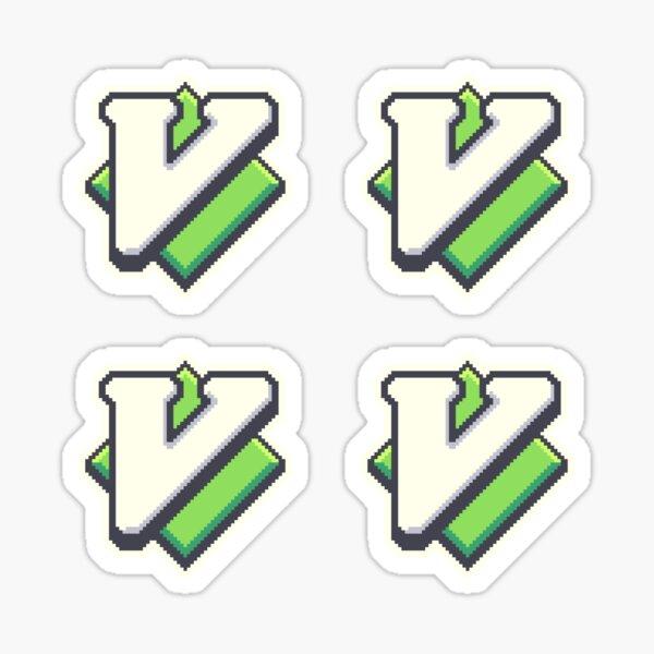 Vim Pixel Art Sticker