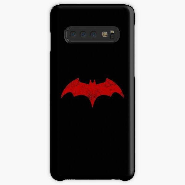 Distressed Batwoman -  Red Bat Symbol - Kate Kane Samsung Galaxy Snap Case