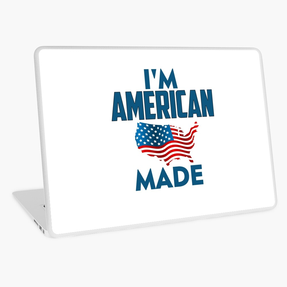 I Am American Laptop Skin