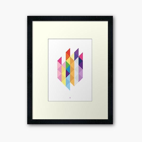My Little Pony - Mane Six Abstraction I Framed Art Print