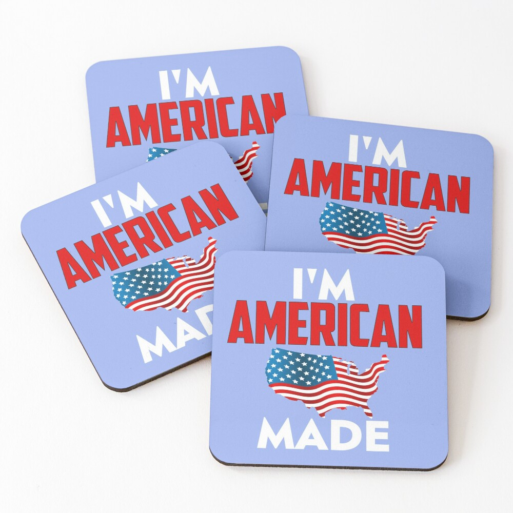 American Made Coasters (Set of 4)