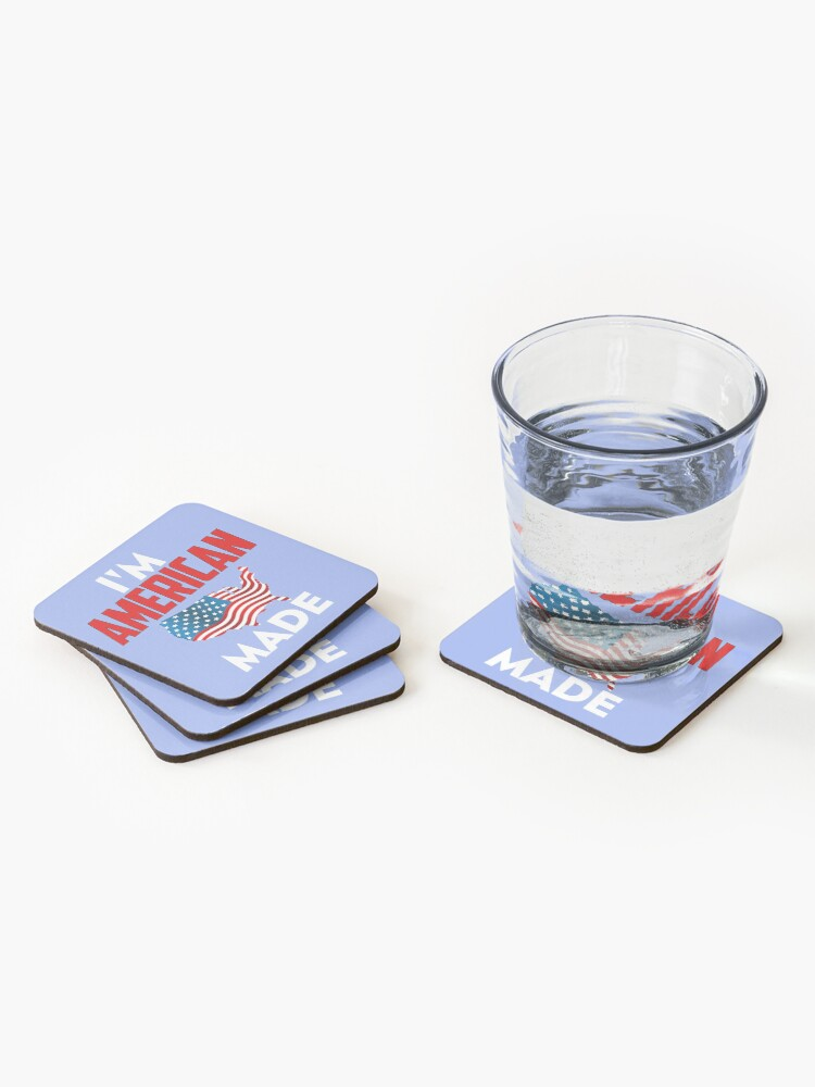Alternate view of American Made Coasters (Set of 4)