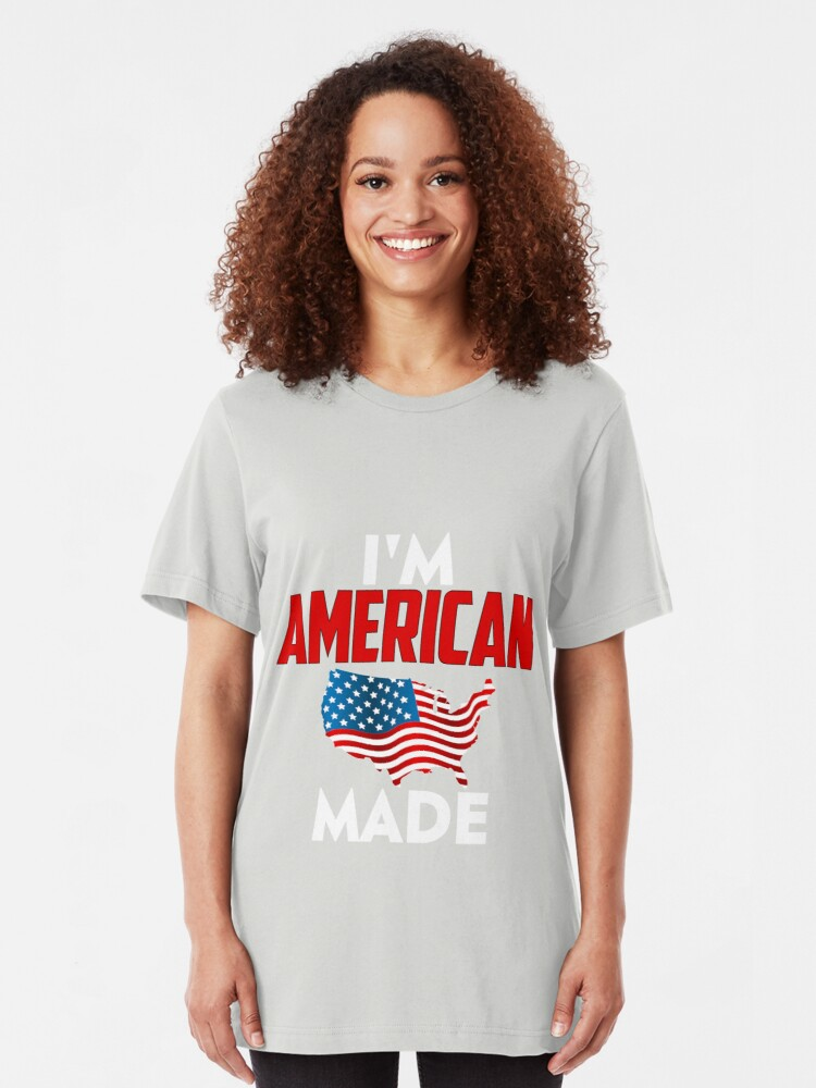 Alternate view of American Made Slim Fit T-Shirt