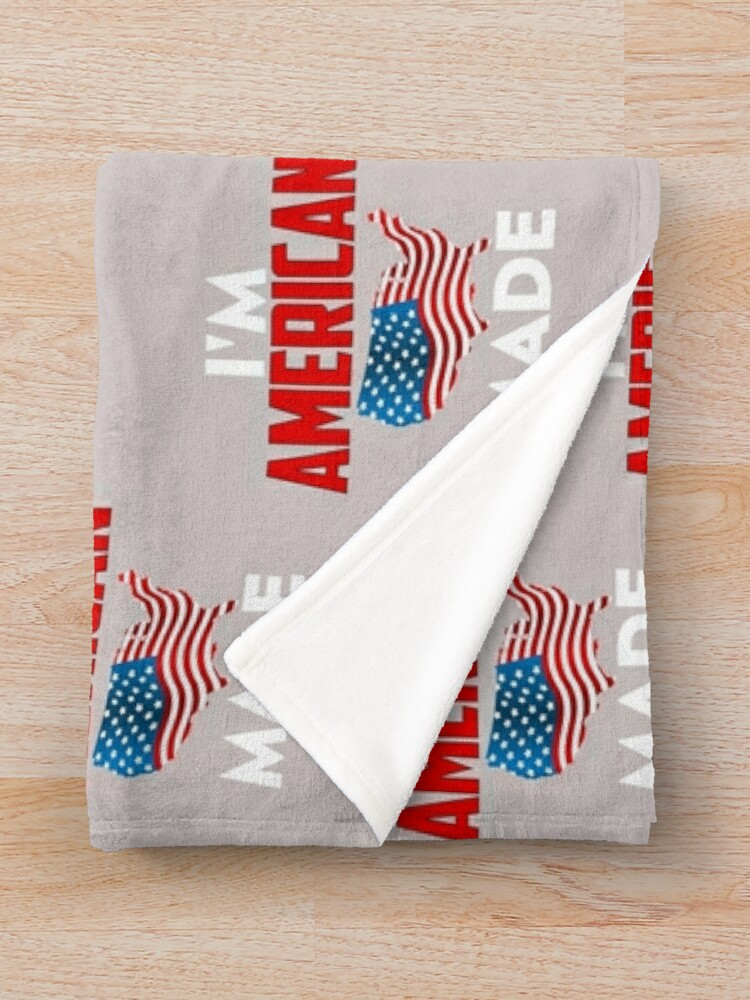 Alternate view of American Made Throw Blanket