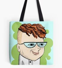 Dexter's Lab Overly Realistic Drawing Tote Bag