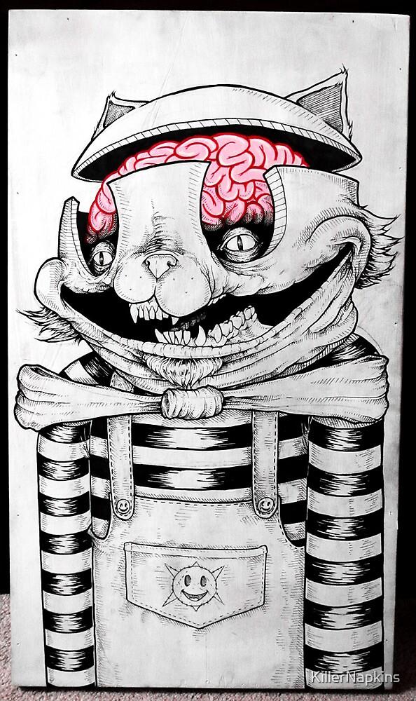 Kitty Brains by KillerNapkins