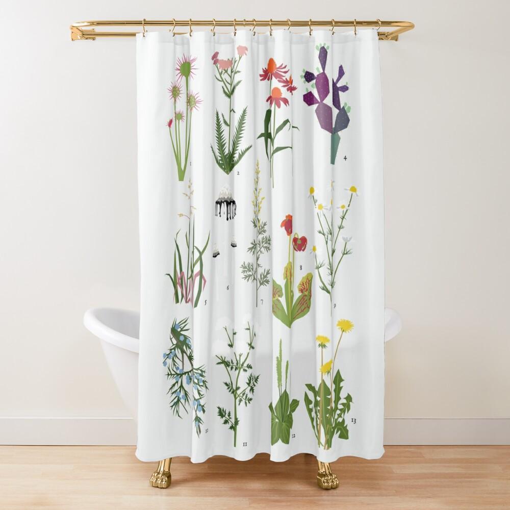 Canadian Prairie Botanicals Shower Curtain