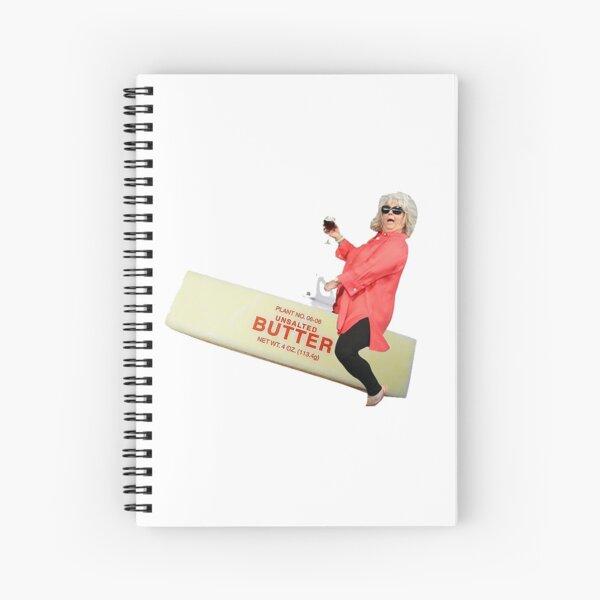 Paula deen riding butter Spiral Notebook