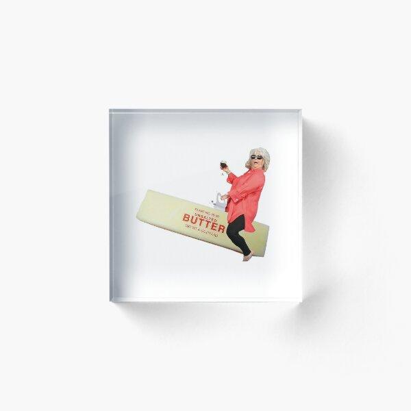 Paula deen reitet Butter Acrylblock