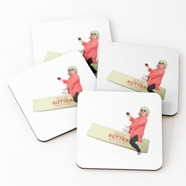 Paula deen riding butter Coasters (Set of 4)