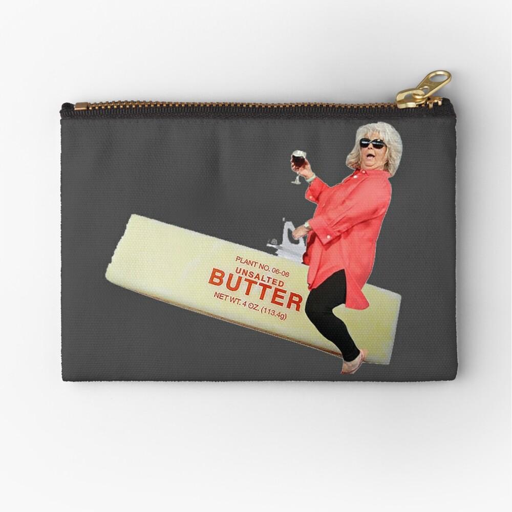 Paula deen riding butter Zipper Pouch