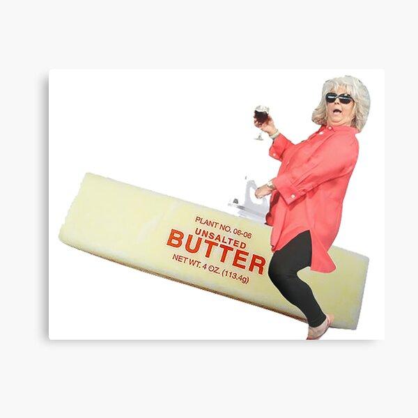 Paula deen riding butter Metal Print