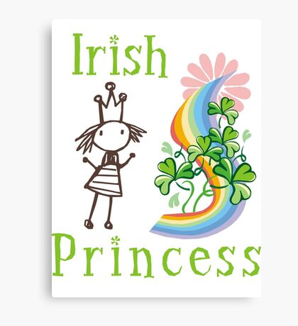 Irish Princess Canvas Print