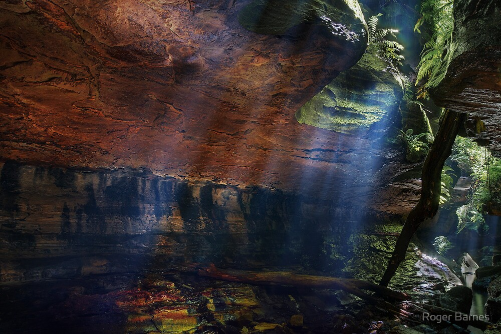 Quot Grand Canyon Blue Mountains Australia Quot By Roger Barnes