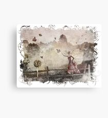 The Butterfly Princess Metal Print