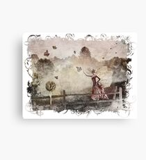 The Butterfly Princess Canvas Print