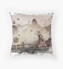 The Butterfly Princess Throw Pillow