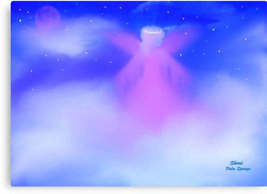 JANUARY ANGEL, ANGEL IN MY HEART by Sherri Palm Springs  Nicholas