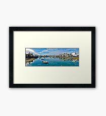 Touristic port in Arrecife Framed Print